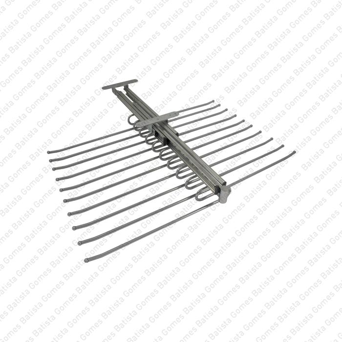 Batista Gomes - CAB.174028 - Cabide Superior Duplo Extraível para Calças