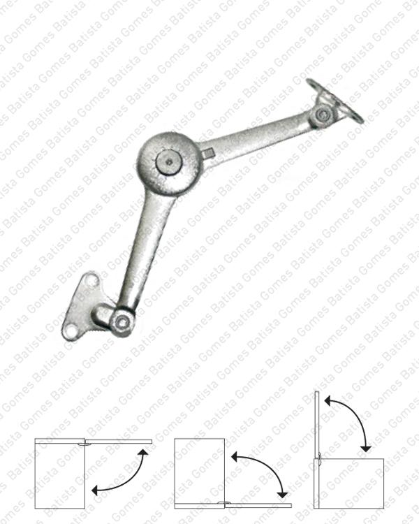 Batista Gomes - CM.118 - MULTI - Compasso Multi para portas de armário