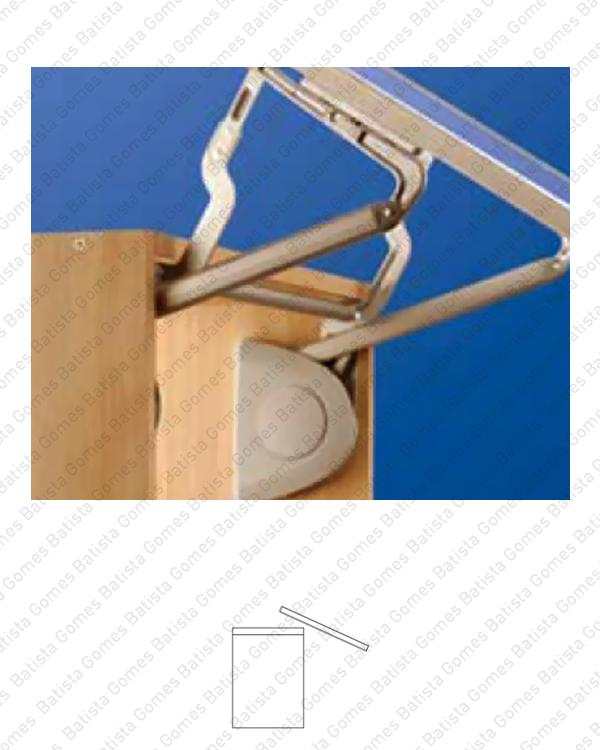 Batista Gomes - CM.3684 - VERSO - Compasso / mecanismo de elevação com amortecedor para portas de armário