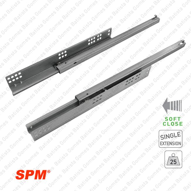 Batista Gomes - COR.816 - Corredi�as ocultas com soft-close para gavetas de madeira extra��o parcial/ 25Kgs
