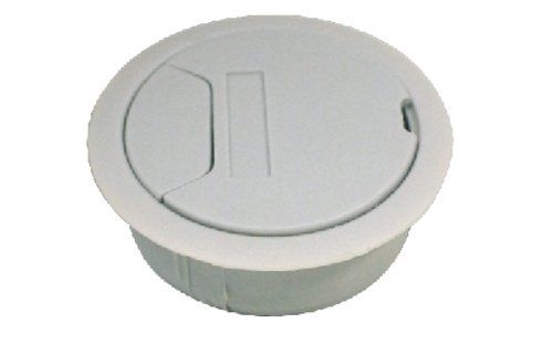 Batista Gomes - PC.363 - Passa cabos com tampa para mesas - ABS