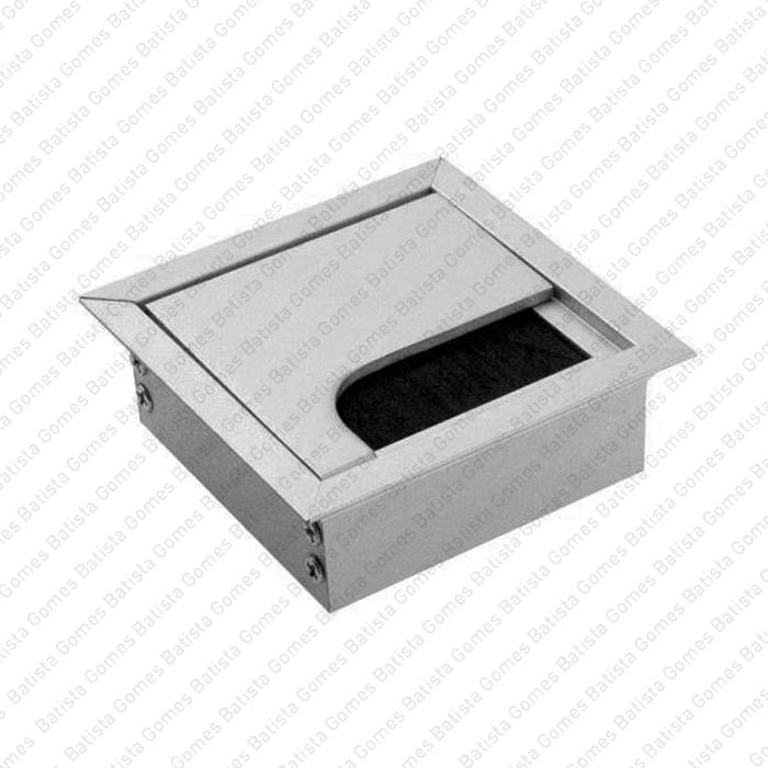 Batista Gomes - PC.365.80 - Passa cabos em alumínio para mesas