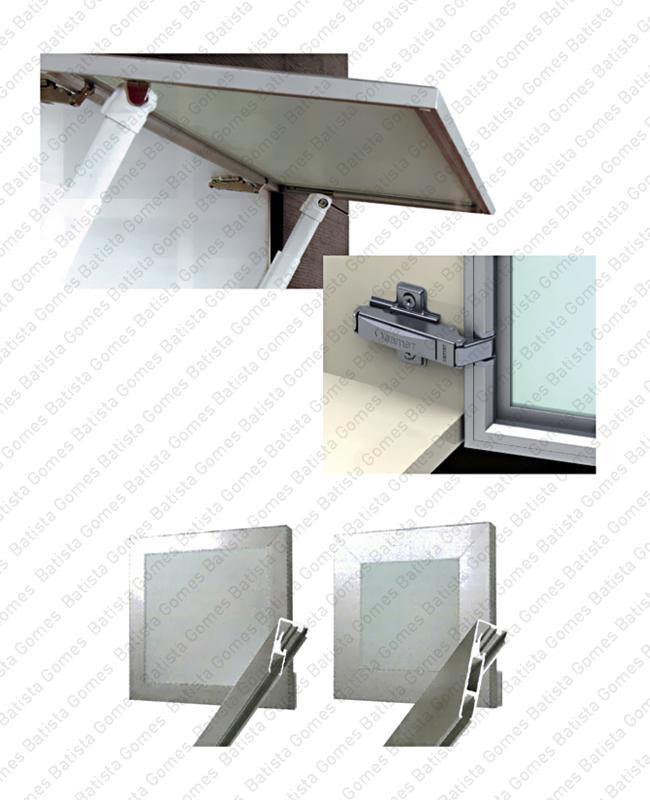 Batista Gomes - DECOFIX - CAL.1601 / CAL.1602 - Perfis de alumínio e acessórios para mobiliário