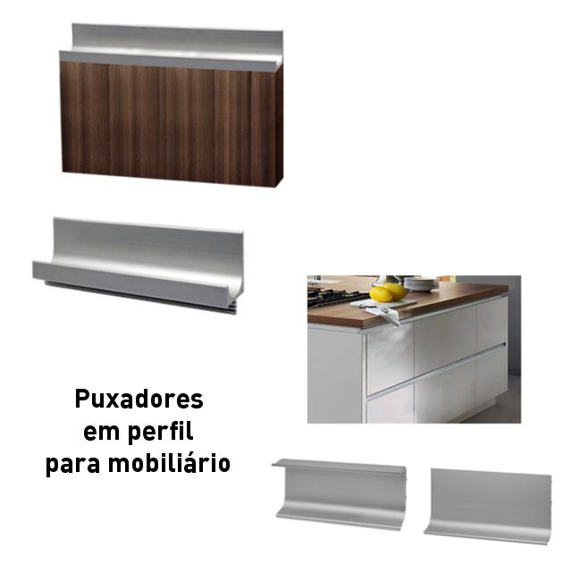 Batista Gomes - Puxadores em perfil para mobiliário - Puxadores em perfil para mobiliário
