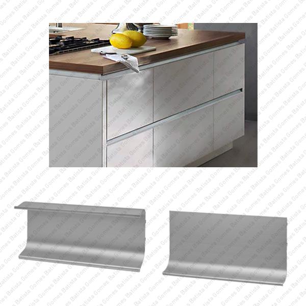 Batista Gomes - PM.9902 / PM.9903 - Perfis de embutir em alumínio para mobiliário