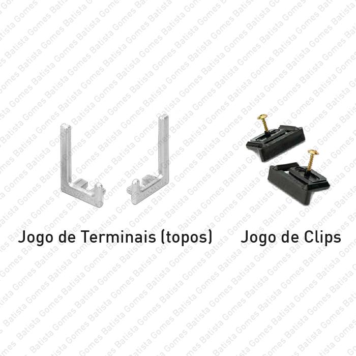 Batista Gomes - PM.SY.32.00.KIT - Kit Terminais de Remate + Clips de Fixação