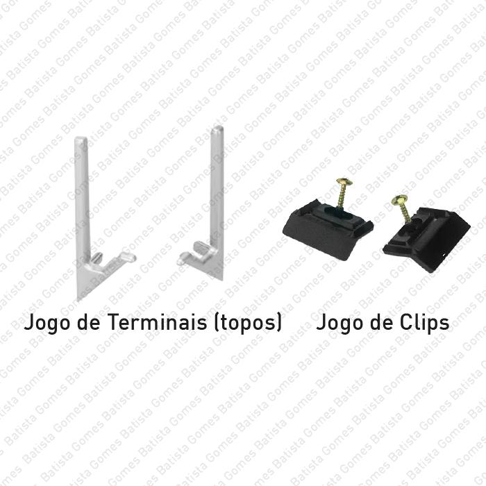Batista Gomes - PM.SY.32.45.KIT - Kit Terminais de Remate + Clips de Fixação