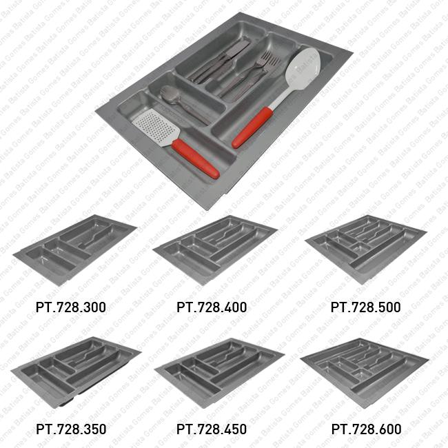 Batista Gomes - PT.728 - Porta talheres com diversas dimensões - Polipropileno