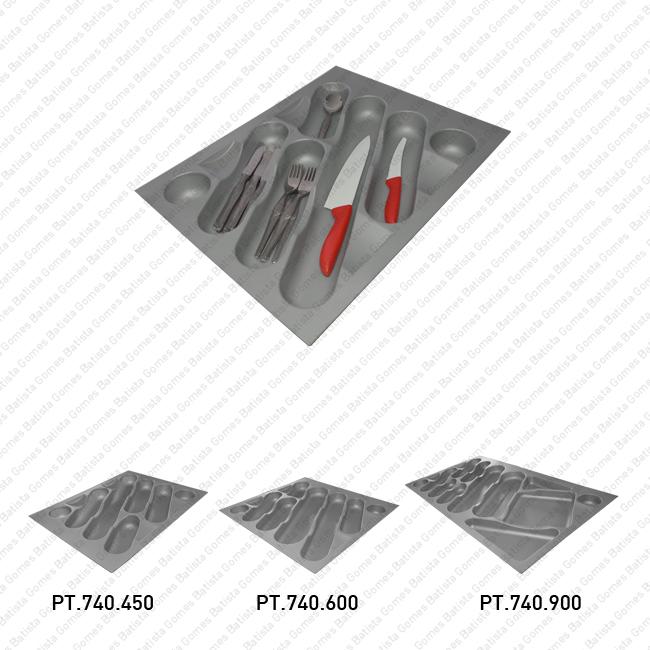 Batista Gomes - PT.740 - Porta talheres com diversas dimensões - Polipropileno