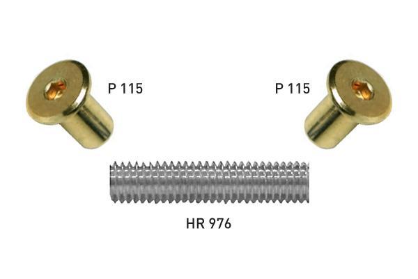 Batista Gomes - P.115 / HR.976 - Porca / Parafuso ligação