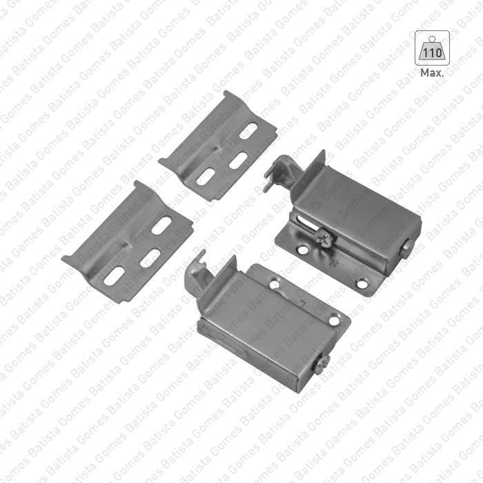 Batista Gomes - SNM.2330 - Conjunto suporte nivelador para móveis (ambidestros)