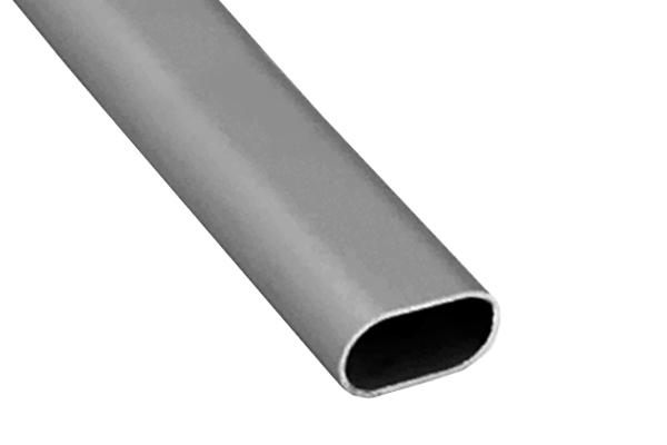 Batista Gomes - VAR.3 - Varão oval em Alumínio liso