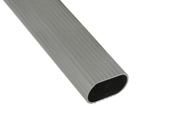 Batista Gomes - VAR.5 - Varão oval em Alumínio frizado