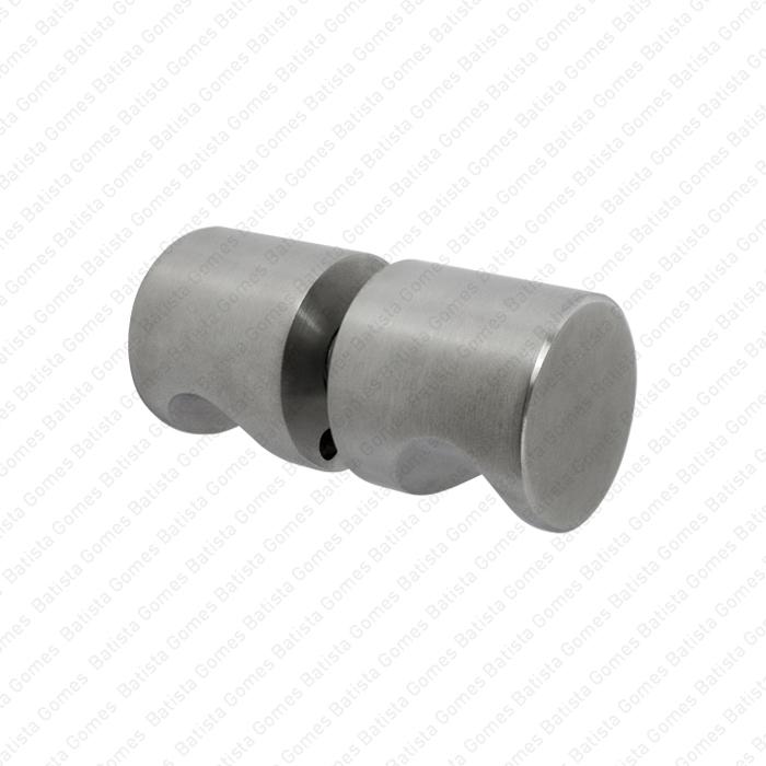 Batista Gomes - ASM.830 - Par puxador fixo Ø30 para portas vidro ou madeira - INOX 304