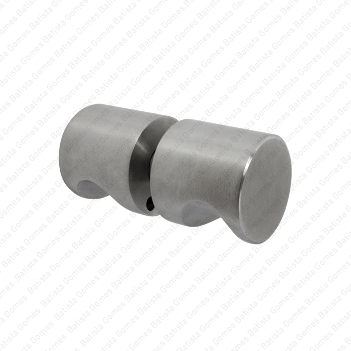 Batista Gomes - ASM.830 - Puxador duplo fixo Ø30x30 para portas vidro ou madeira - INOX 304