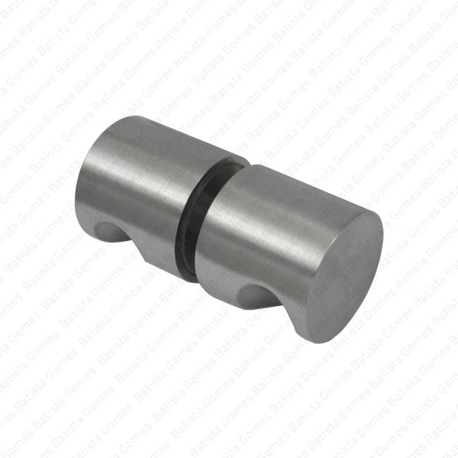 Batista Gomes - P.IN.8052.V - Puxador duplo fixo Ø30x28 para portas vidro ou madeira - INOX 304