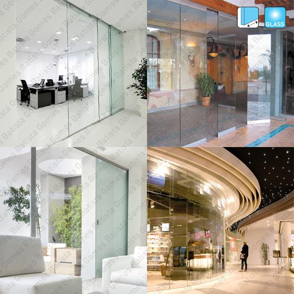 Batista Gomes - Sistemas SV - Sistemas para divisões e portas de correr em vidro