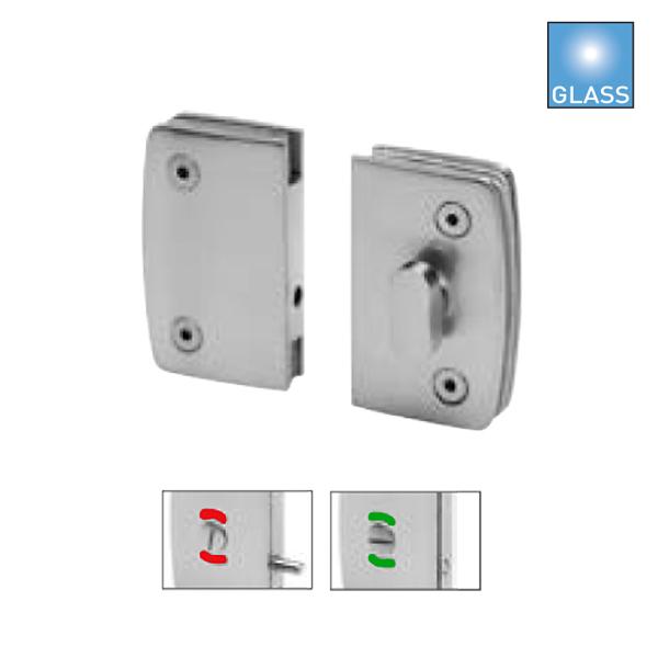 Batista Gomes - FXV.8253 - Fecho para portas WC em vidro