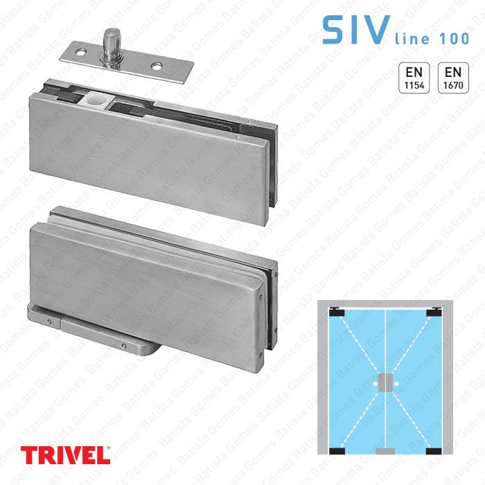 Batista Gomes - SIV.152 - Jogo pivot hidráulico - Especial para portas em vidro exteriores