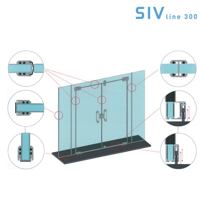 Batista Gomes - SIV line 300 - SIV 300 - Sistemas integrados vidro