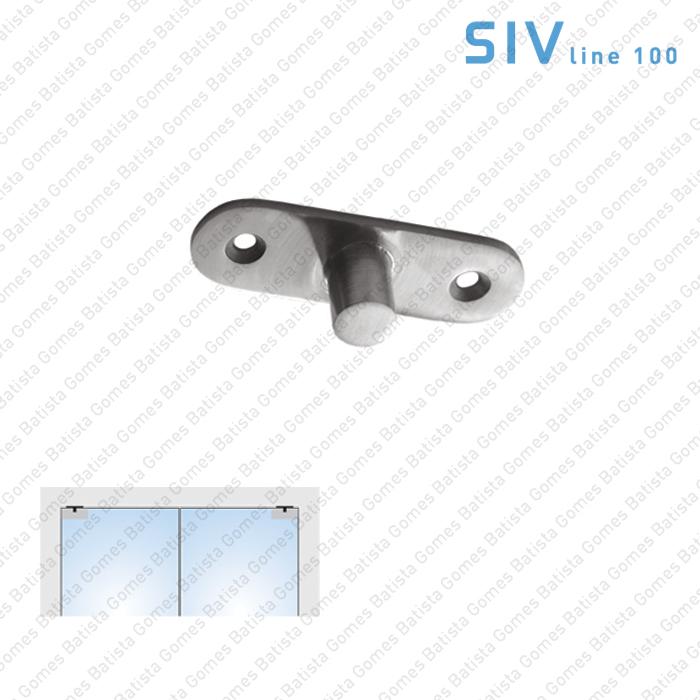 Batista Gomes - SIV.106.1 - Pivot superior/tecto - Portas em vidro de batente e vai-vem
