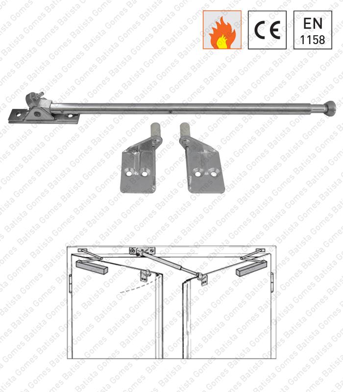 Batista Gomes - MACE.13525 - Selector fecho universal com braço oscilante para portas duplas