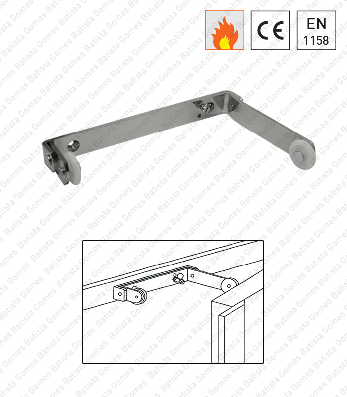 Batista Gomes - MACE.3110 - Selector fecho universal com braço oscilante para portas duplas