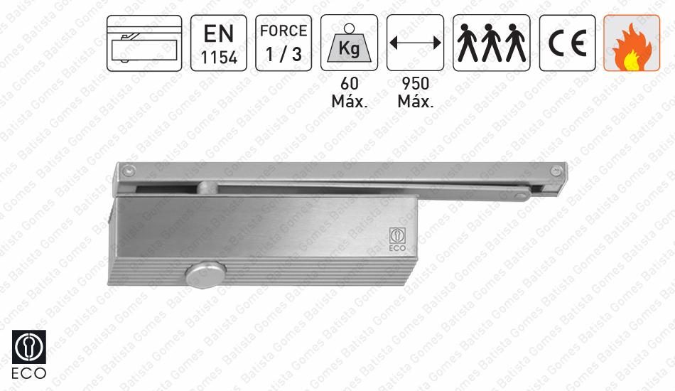 Batista Gomes - M.TS.31 | ECO - Mola aérea com braço guia deslizante - ECO - Força 1/3 / 60Kg / 950mm
