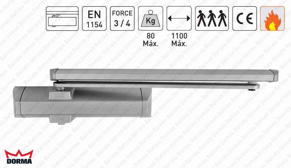 Batista Gomes - M.TS.90 Impulse | DORMA - Mola aérea com braço guia deslizante - DORMA - Força 3/4 / 80Kg / 1100mm