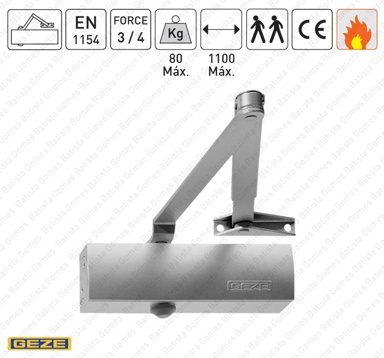 Batista Gomes - M.TS.1500 | GEZE - Mola aérea com braço articulado - GEZE - Força 3/4 / 80Kg / 1100mm