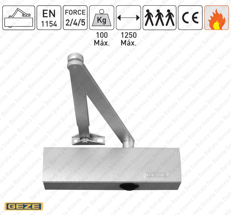 Batista Gomes - M.TS.2000V | GEZE - Mola aérea com braço articulado - GEZE - Força 2/4/5 / 100Kg / 1250mm
