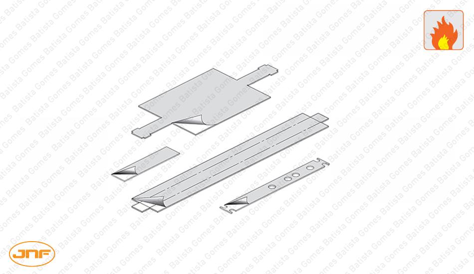 Batista Gomes - MA.KI.801 | JNF - Kit ignifugo intumescente para mola MA.801.F3