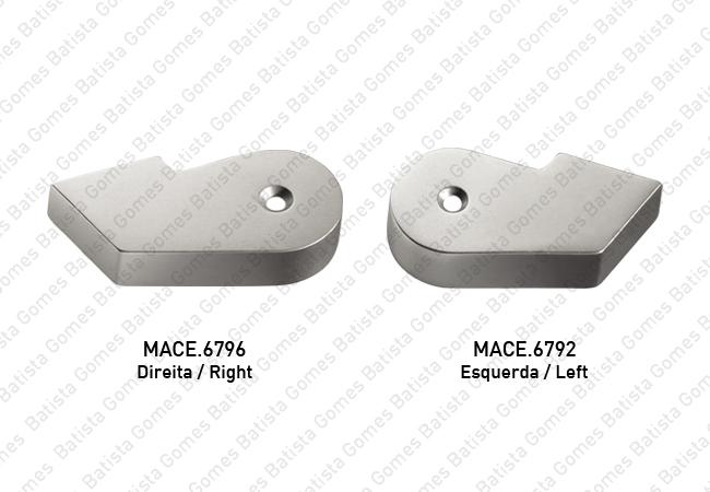 Batista Gomes - MACE.6792 / MACE.6796 - Placas embelezadoras para braço inferior MACE.44579