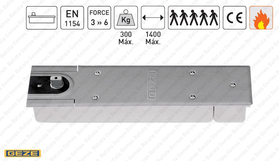 Batista Gomes - M.TS.550.NV - Mola pavimento para portas até 300Kg / 1400mm