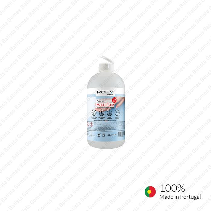 Batista Gomes - AG.HC.KOBY.0.5L - Álcool Gel HAND-CARE - 0,5L