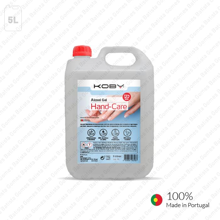 Álcool Gel HAND-CARE - 5 Litros