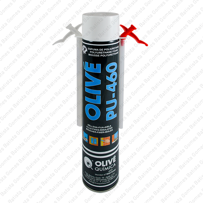 Batista Gomes - OLIVÉ PU-460 - Manual - Espuma de poliuretano monocomponente expansível