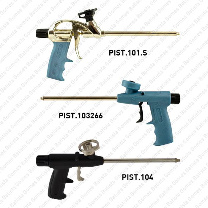 Batista Gomes - Pistolas Poliuretano - Pistolas para aplicação de espuma de poliuretano