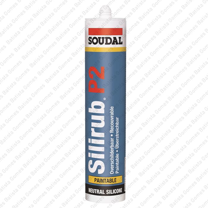 Batista Gomes - SILIRUB P2 - Selante de silicone pintável NEUTRO