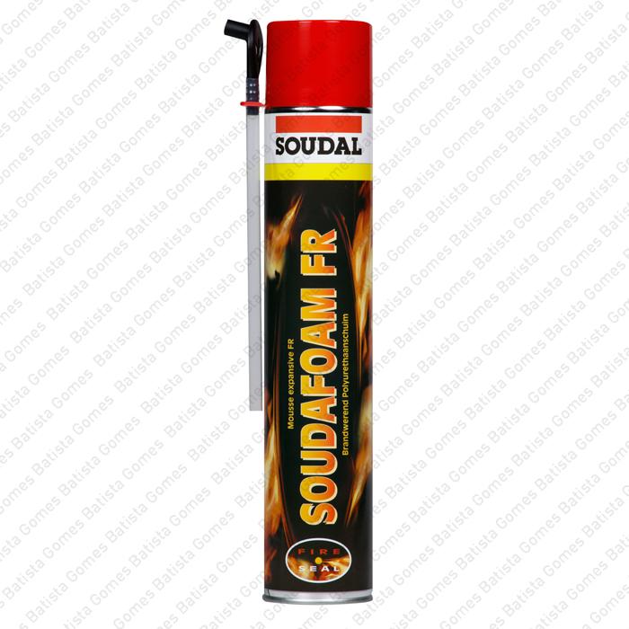 Batista Gomes - Soudafoam FR Anti-fogo - Manual - Espuma de poliuretano anti-fogo (corta fogo) monocomponente expansível