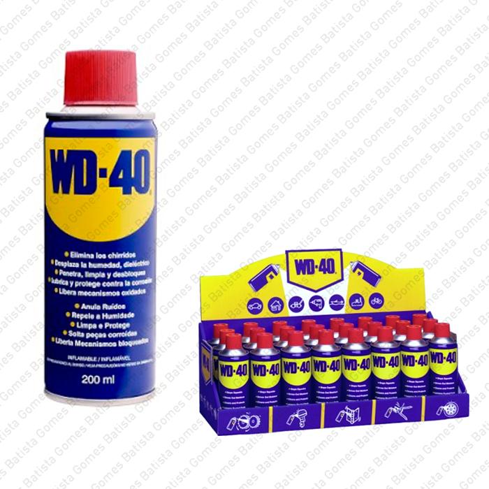 Batista Gomes - WD-40 - Spray lubrificante - Spray lubrificante