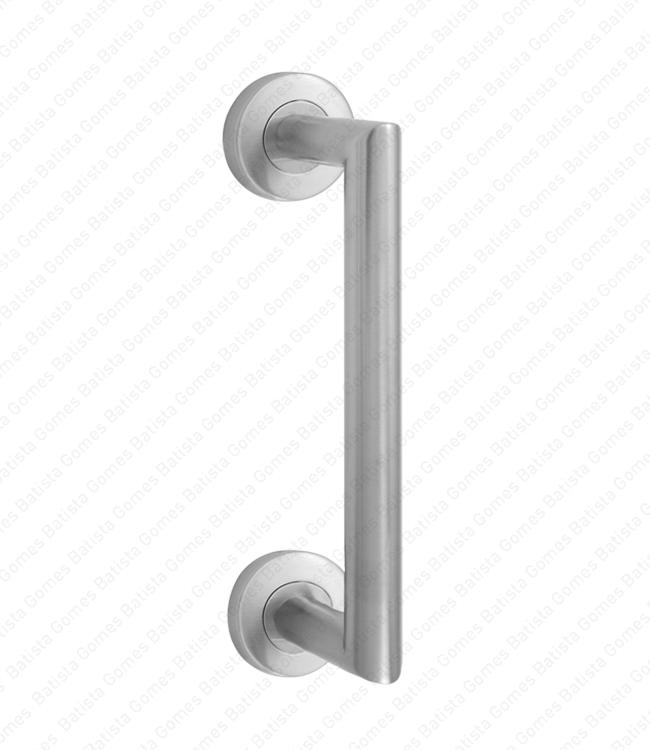 Batista Gomes - A.IN.8302 - Asa simples para portas - INOX