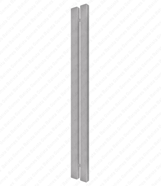 Batista Gomes - A.IN.8406P - Asa dupla para portas - INOX