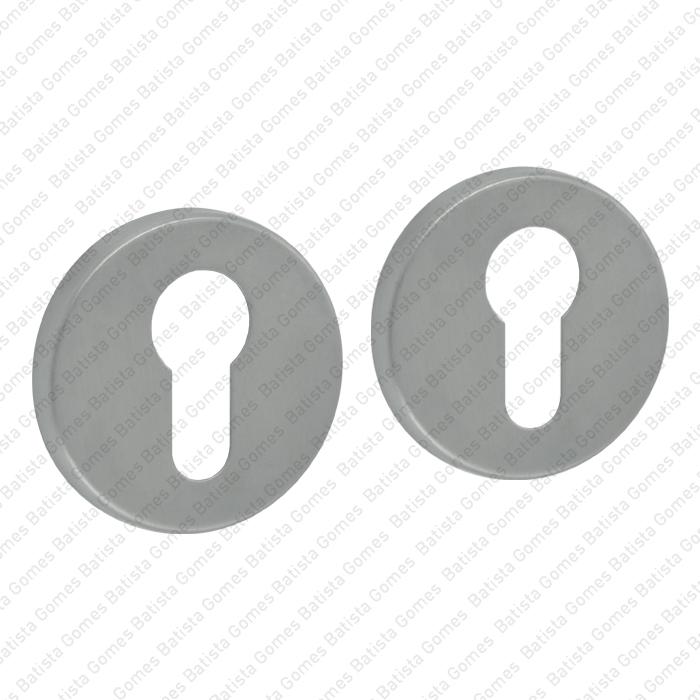 Batista Gomes - ENT.49.PZ - KIT - Jogo de entradas de chave para cilindro redondas Ø52x7mm