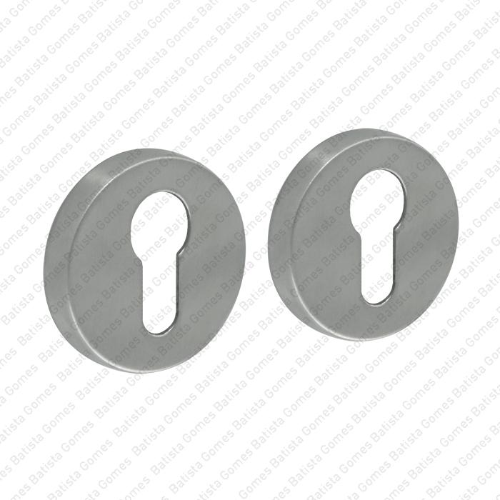 Batista Gomes - ENT.IN.80Y - KIT - Jogo de entradas de chave para cilindro redondas Ø52x9mm