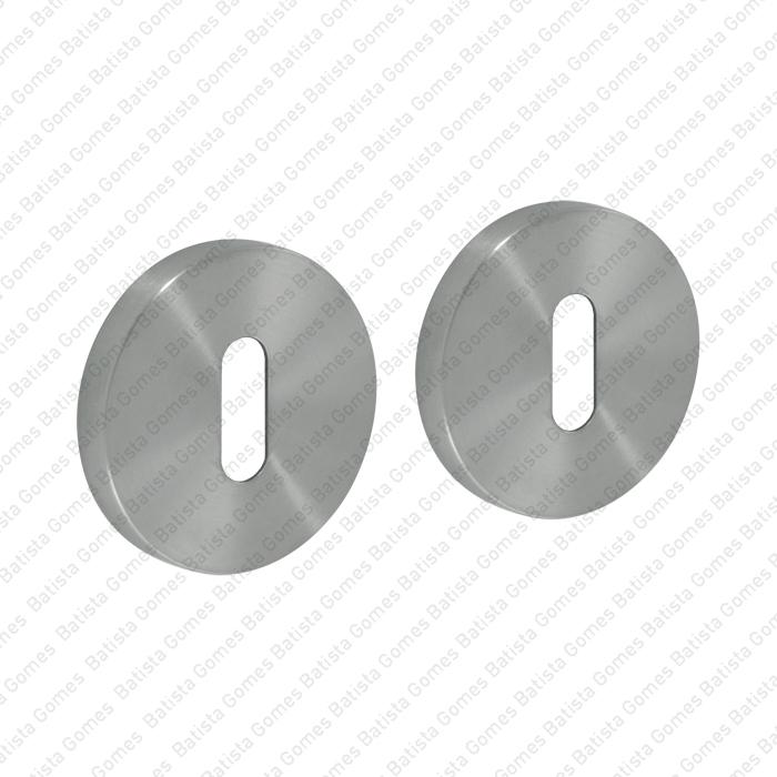 Batista Gomes - ENT.IN.82N - KIT - Jogo de entradas de chave normal redondas Ø50x8mm