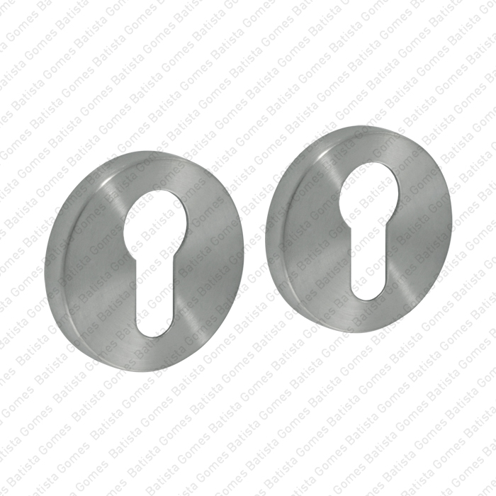 Batista Gomes - ENT.IN.82Y - KIT - Jogo de entradas de chave para cilindro redondas Ø50x8mm