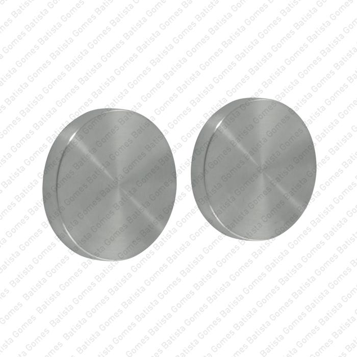 Batista Gomes - ENT.IN.85EC - KIT - Jogo de entradas de chave cegas redondas Ø50x8mm