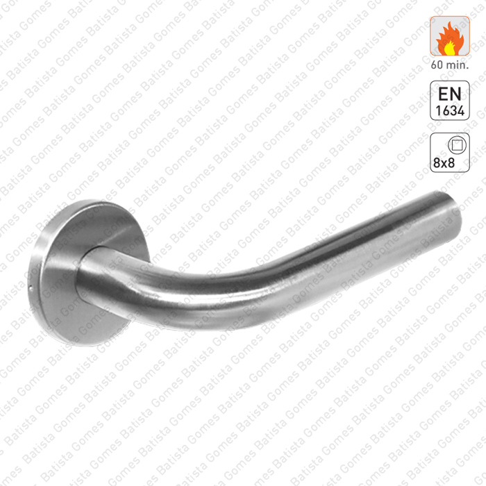Batista Gomes - P.IN.78102.CF60 - Par puxadores para portas corta-fogo - INOX