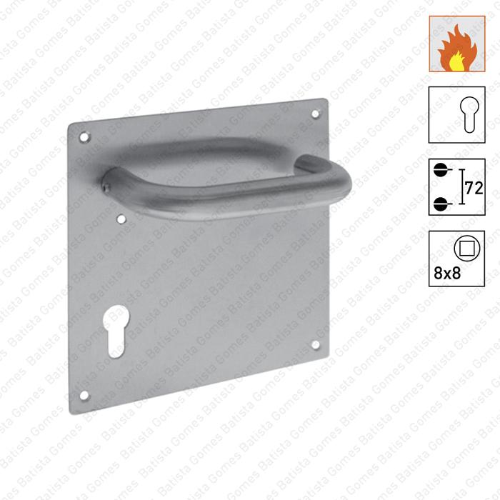 Batista Gomes - P.MSOC872CF.Y72 - Par puxadores para portas corta-fogo - INOX 304